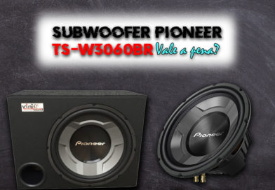 Subwoofer Pioneer W3060BR