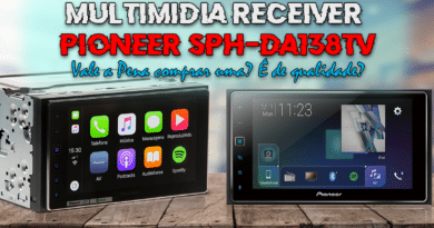 SPH-DA138TV Multimídia Receiver